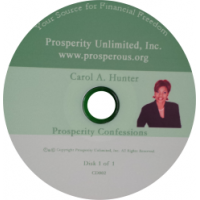 Prosperity Confessions (CD)
